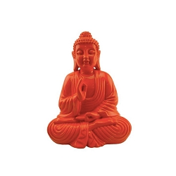 Colorful Buddha - Orange