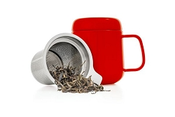 Cup & Infuser Set - Red