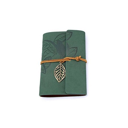 Leather Journal - Green
